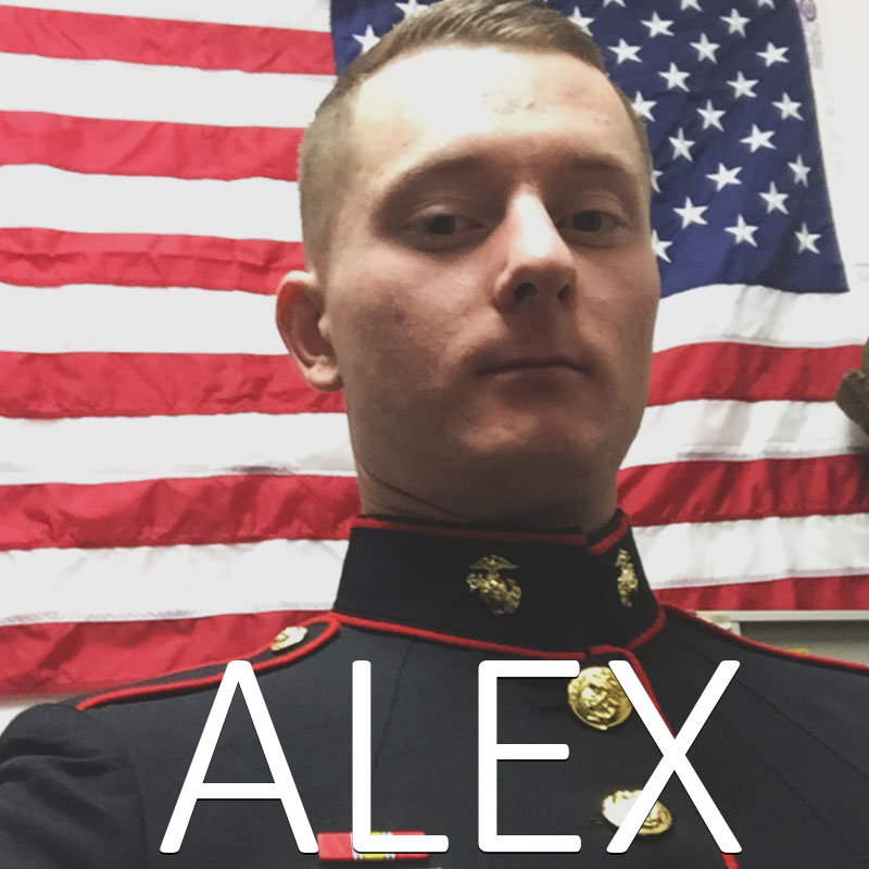 Our Delafield, WI. shop assistant who moonlight's as a United States Marine