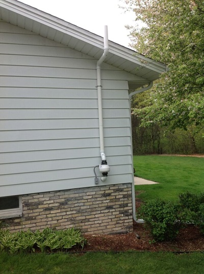 West Allis Radon Mitigation System