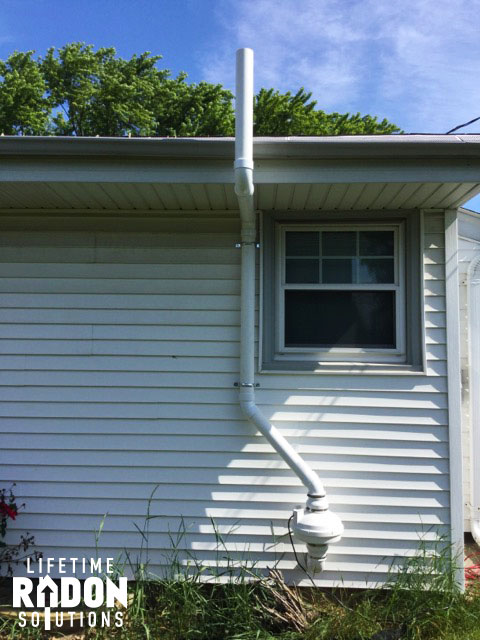 Radon testing in Madison, WI leads to radon mitigation